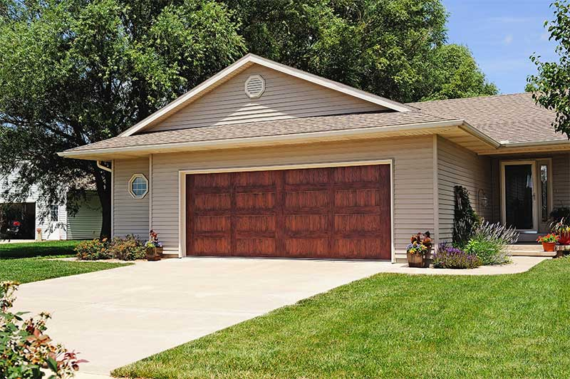 wood garage doors Maple Grove MN